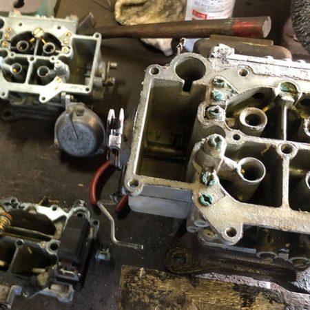 マツダ ファミリアロータリークーペ 10A型ロータリーエンジンオーバーホール3